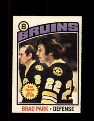 1976 BRAD PARK OPC #60 O-PEE-CHEE BRUINS *G2928