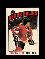 1976 BOBBY ORR OPC #213 O-PEE-CHEE BLACK HAWKS *G2378