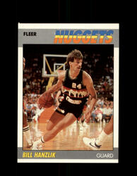 1987 BILL HANZLIK FLEER #47 NUGGETS *R2430