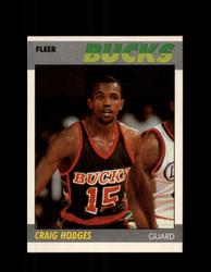 1987 CRAIG HODGES FLEER #52 BUCKS *5816