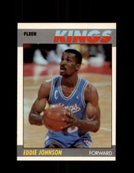 1987 EDDIE JOHNSON FLEER #55 KINGS *8596