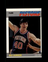 1987 ED LAIMBEER FLEER #61 PISTONS *4648