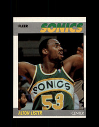 1987 ALTON LISTER FLEER #64 SUPERSONICS *G6029