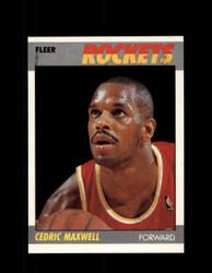 1987 CEDRIC MAXWELL FLEER #70 ROCKETS *R3413