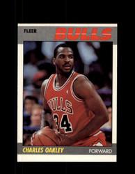 1987 CHARLES OAKLEY FLEER #79 BULLS *3141