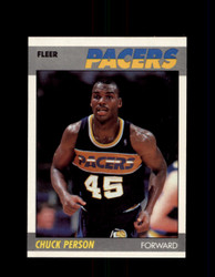 1987 CHUCK PERSON FLEER #85 PACERS *1287