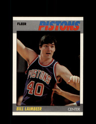 1987 BILL LAIMBEER FLEER #61 PISTONS *9231