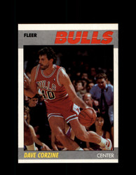 1987 DAVE CORZINE FLEER #22 BULLS *6177