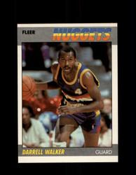 1987 DARRELL WALKER FLEER #117 NUGGETS *G4220