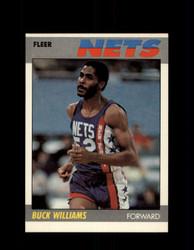 1987 BUCK WILLIAMS FLEER #120 NETS *G4222