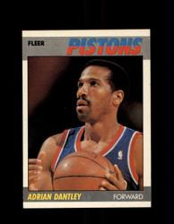 1987 ADRIAN DANTLEY FLEER #24 PISTONS *G4236
