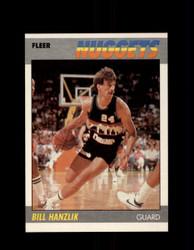 1987 BILL HANZLIK FLEER #47 NUGGETS *G4245