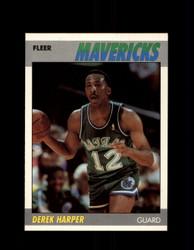 1987 DEREK HARPER FLEER #48 MAVERICKS *G4246