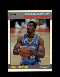 1987 EDDIE JOHNSON FLEER #55 KINGS *G4247