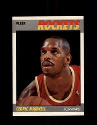 1987 CEDRIC MAXWELL FLEER #70 ROCKETS *G4251