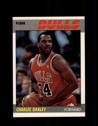 1987 CHARLES OAKLEY FLEER #79 BULLS *G4257