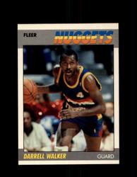 1987 DARRELL WALKER FLEER #117 NUGGETS *G4267