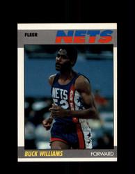 1987 BUCK WILLIAMS FLEER #120 NETS *G4268