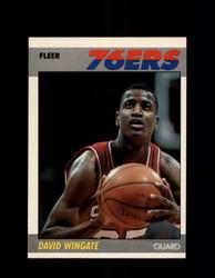 1987 DAVID WINGATE FLEER #125 76ERS *G4270