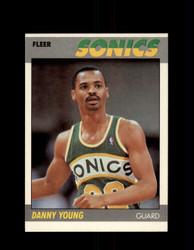 1987 DANNY YOUNG FLEER #131 SUPERSONICS *G4272