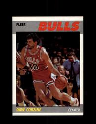 1987 DAVE CORZINE FLEER #22 BULLS *G4286