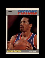 1987 ADRIAN DANTLEY FLEER #24 PISTONS *G4288