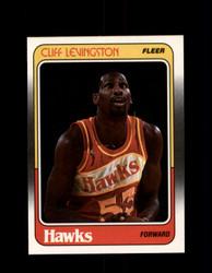 1988 CLIFF LEVINGSTON FLEER #2 HAWKS *G4296