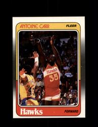 1988 ANTOINE CARR FLEER #1 HAWKS *G4297