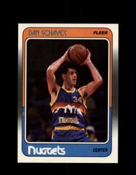 1988 DAN SCHAYES FLEER #37 NUGGETS *G4304