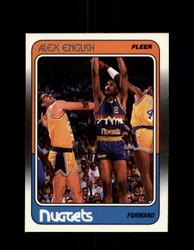1988 ALEX ENGLISH FLEER #34 NUGGETS *G4307