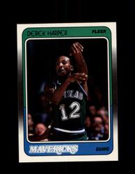 1988 DEREK HARPER FLEER #30 MAVERICKS *G4318