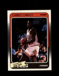 1988 CHARLES OAKLEY FLEER #18 KNICKS *G4327