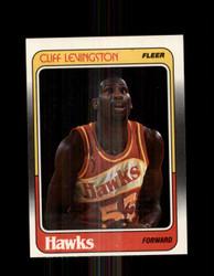 1988 CLIFF LEVINGSTON FLEER #2 HAWKS *G4335