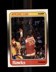 1988 ANTOINE CARR FLEER #1 HAWKS *G4336