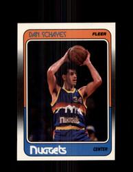 1988 DAN SCHAYES FLEER #37 NUGGETS *G4339