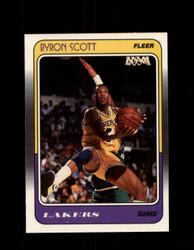 1988 BYRON SCOTT FLEER #68 LAKERS *G4352