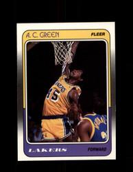 1988 A.C. GREEN FLEER #66 LAKERS *G4353
