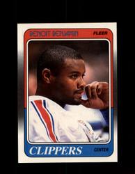 1988 BENOIT BENJAMIN FLEER #61 CLIPPERS *G4357