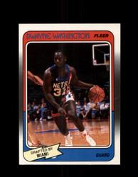 1988 DWAYNE WASHINGTON FLEER #71 NETS *G4369