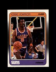 1988 EDDIE JOHNSON  FLEER #90 SUNS *G4374