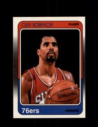 1988 CLIFF ROBINSON FLEER #88 76ERS *G4375
