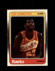 1988 CLIFF LEVINGSTON FLEER #2 HAWKS *G4383