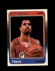 1988 CLIFF ROBINSON FLEER #88 76ERS *R4464
