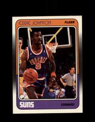 1988 EDDIE JOHNSON  FLEER #90 SUNS *R4621