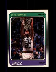 1988 BOB HANSEN FLEER #113 JAZZ *R5681