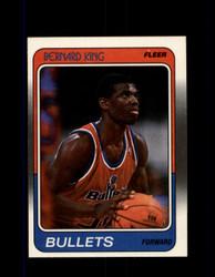 1988 BERNARD KING FLEER #116 BULLETS *R4741