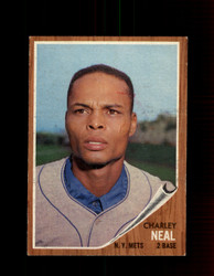 1962 CHARLEY NEAL TOPPS #365 METS *4955