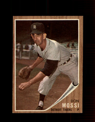 1962 DON MOSSI TOPPS #105 TIGERS *8734