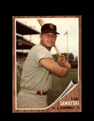 1962 CARL SAWATSKI TOPPS #106 CARDINALS *G4022