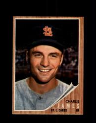 1962 CHARLIE JAMES TOPPS #412 CARDINALS *G4033
